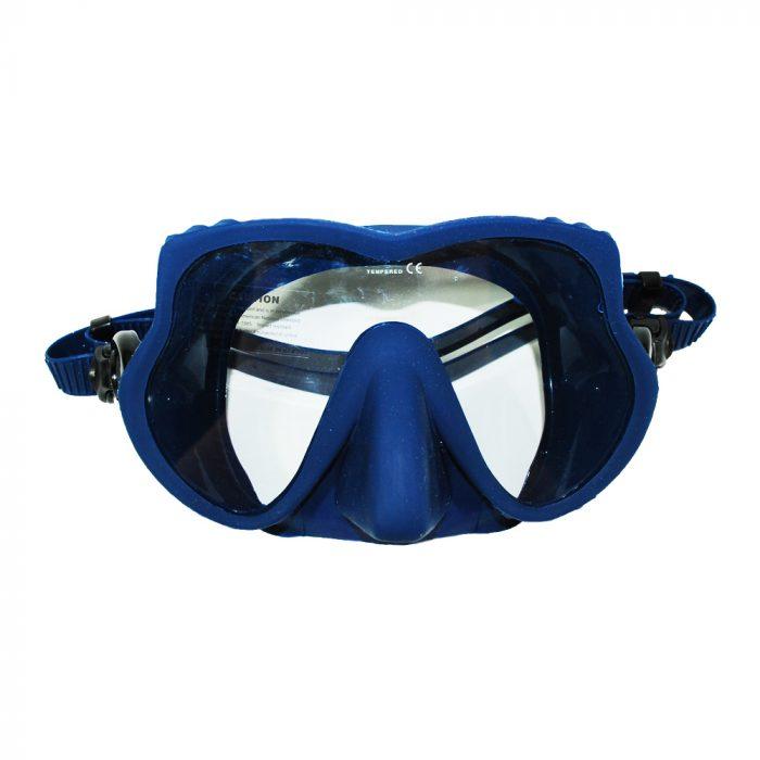 máscara de buceo y snorkeling azul Butterfly
