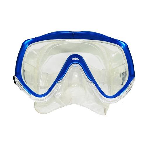 máscara buceo y snorkeling transparente X-Vision