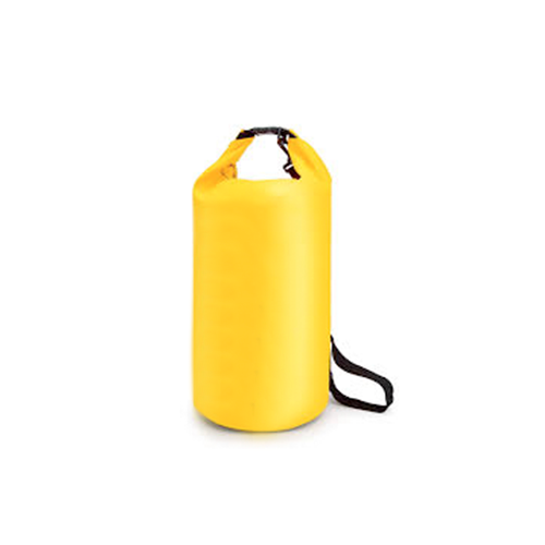 Bolso Seco 20 lts Impermeable Aquasport Amarillo